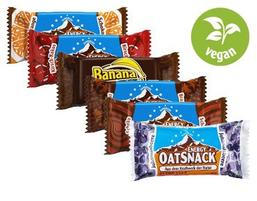 EnergyOatSnack bar vegan set