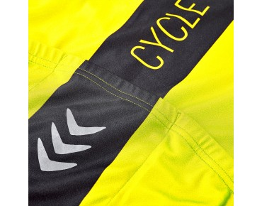 ROSE RACE CYW women's jersey fluo yellow/white/black