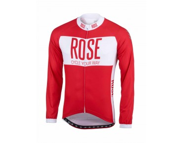 LINE long-sleeved jersey red/white