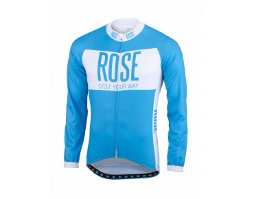 ROSE LINE long-sleeved jersey sky/white