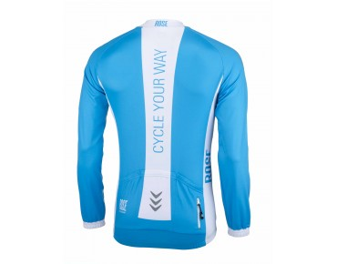 LINE long-sleeved jersey sky/white