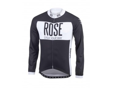 ROSE LINE long-sleeved jersey black/white