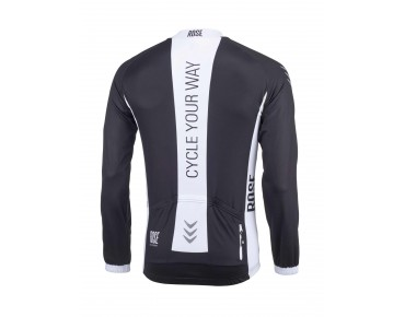 LINE long-sleeved jersey black-white