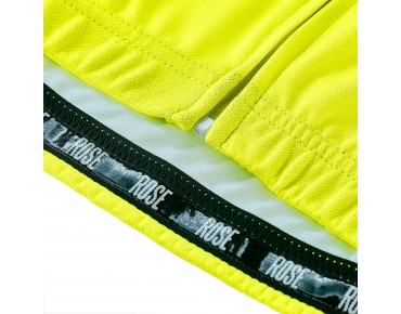 ROSE LINE Trikot langarm fluo yellow/black