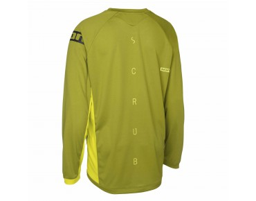 ION HELIUM long-sleeved bike shirt olive
