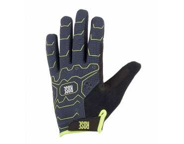 ROSE PURE CYW full-finger gloves grey/lime