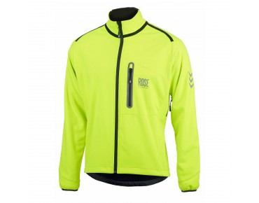 ROSE WINDBREAKER Softshell Jacke fluo/black