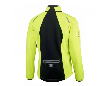 ROSE WINDBREAKER soft shell jacket fluo/black