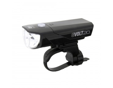 Cateye GVolt 20RC HL-EL350GRC LED headlight black