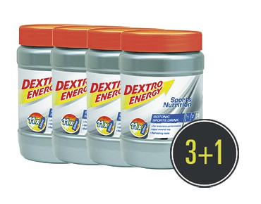 Dextro Energy Isotonic Sports Drink 3+1 for free