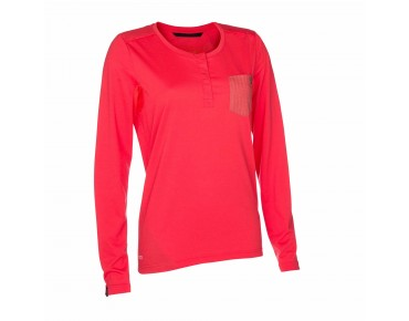 ION MOTION women's long-sleeved shirt hibiscus