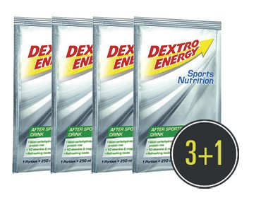 Dextro Energy After Sports Drink 3+1 for free