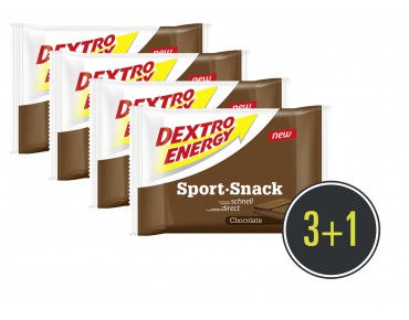 Dextro Energy Sport Snack Carbohydrate Bar 3+1 for free
