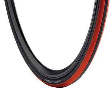 Vredestein Fiammante DuoComp road bike tyre black/red