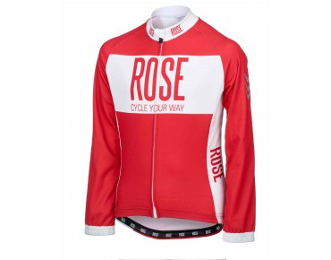 ROSE LINE THERMO thermal long-sleeved jersey for kids red/white