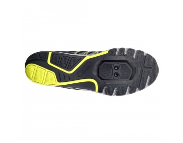 ROSE RTS 07 MTB/trekking shoes grey/black/lime