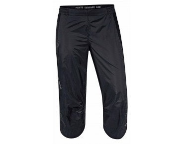 VAUDE SPRAY ¾ PANTS II waterproof trousers for women black