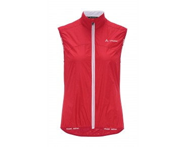 VAUDE AIR VEST II Damen Windweste red