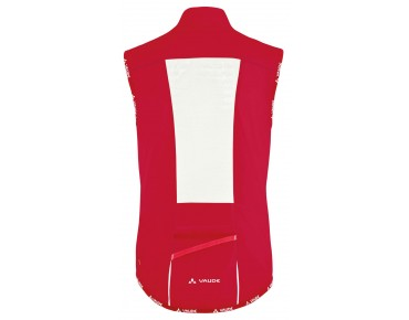 VAUDE AIR VEST II windproof vest for women red