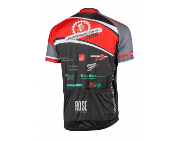ROSE Trikot MUKO-BIKE-TOUR 2016 schwarz