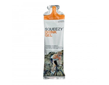 Squeezy drink gel and super drink gel 60 ml raspberry