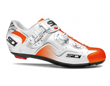 SIDI KAOS road shoes white/orange