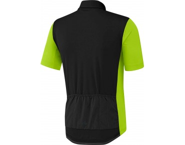 adidas supernova reflectivity jersey black/semi solar slime
