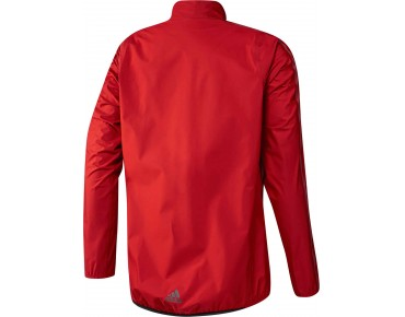 adidas infinity h.too.oh waterproof jacket vivid red s13