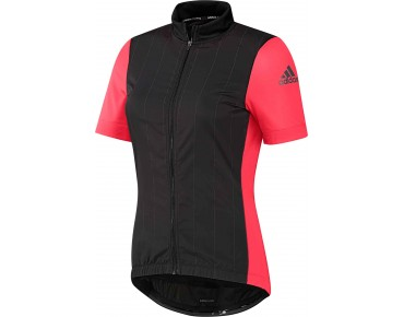adidas supernova reflectivity women's jersey black/shock red s16