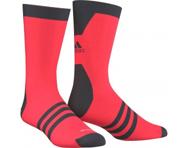 adidas infinity socks shock red s16/dark grey