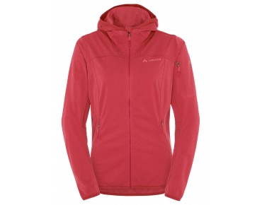 VAUDE DURANCE HOODED jacket for women flame