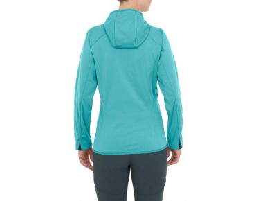 VAUDE DURANCE HOODED jacket for women icewater