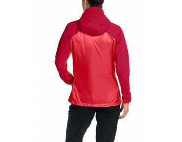 VAUDE CROZ WINDSHELL II women's jacket flame
