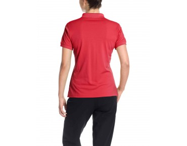 VAUDE MARWICK women's polo shirt flame