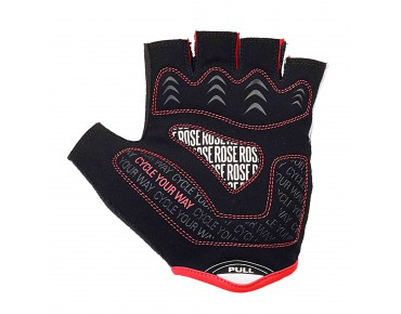 ROSE LINE CYW GEL gloves black/white/red