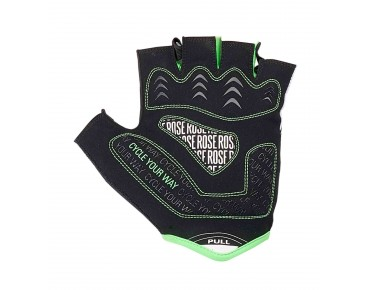 ROSE LINE CYW GEL gloves black/white/green