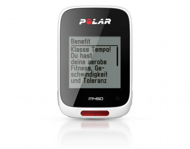 Polar M450 bike computer white