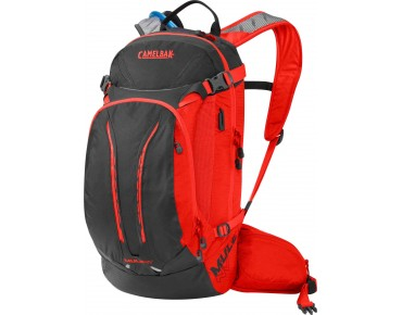 CamelBak M.U.L.E. NV backpack with hydration system charcoal/ember
