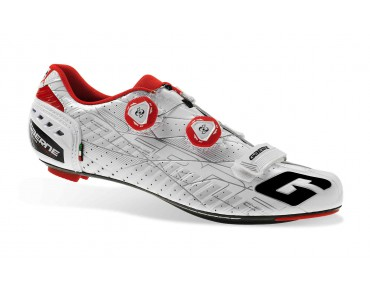 GAERNE G STILO road shoes white/red
