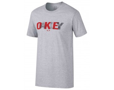 OAKLEY COPING T-shirt heather grey