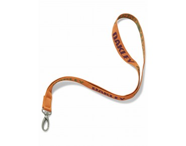 OAKLEY LANYARD NECKBAND orange ochre
