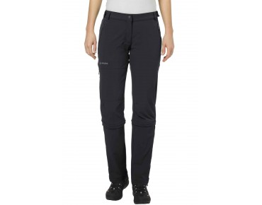 VAUDE FARLEY STRETCH CAPRI T-Zip II women's zip-off trousers black