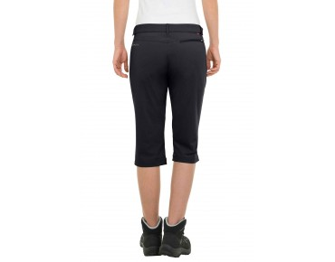 VAUDE FARLEY STRETCH CAPRI ¾-length trousers for women black