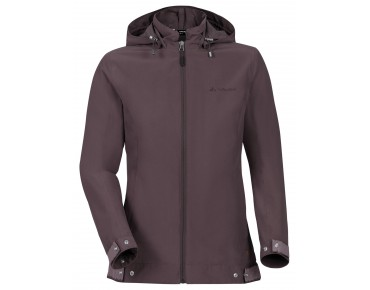 VAUDE CYCLIST Damen Jacke dark plum