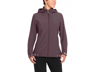 VAUDE CYCLIST women's jacket dark plum