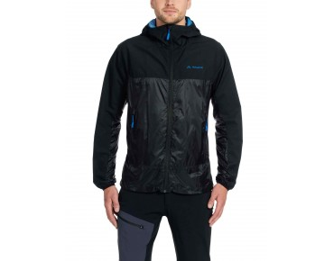 VAUDE CROZ WINDSHELL II soft shell jacket black/blue