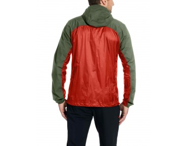 VAUDE CROZ WINDSHELL II soft shell jacket lava