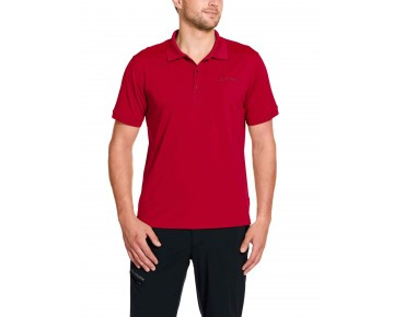 VAUDE MARWICK II polo shirt indian red