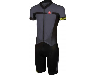 Castelli VELOCISSIMO SANREMO one-piece suit anthracite/black