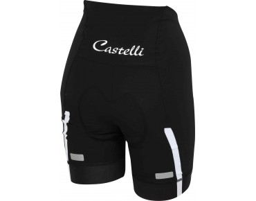 Castelli VELOCISSIMA SHORT women's bike shorts black/white